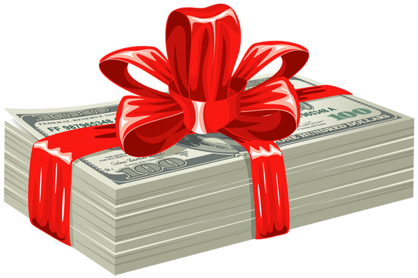 Dollars_Gift_PNG_Clipart